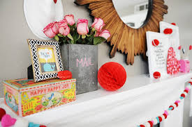 cute valentine art from minted and how to decorate a valentine