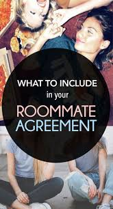Sample Roommate Contract Best 20 Roommate Contract Ideas On Pinterest College Roommate