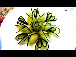 Vegetable Decoration Videos Best 25 Cucumber Flower Ideas On Pinterest Fruit And Vegetable