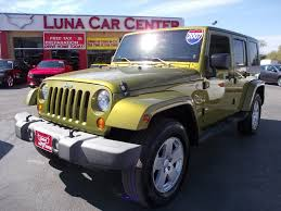 2007 Jeep Wrangler Unlimited 4x4 Sahara 4dr Suv In San Antonio Tx