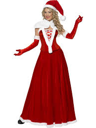 mrs claus costumes luxury mrs claus costume for women adults costumes and fancy