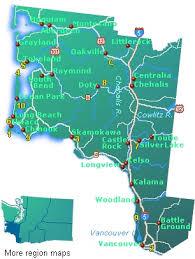 map of southwest southwest washington map free road map go northwest a travel