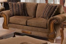 Traditional Sofa Fabric Traditional Sofa U0026 Loveseat Set W Throw Pillows