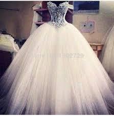 grosse robe de mariã e de luxe sheer dentelle de mariage robe corset cristal perles
