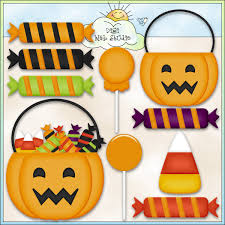 halloween candy bowl clipart 43