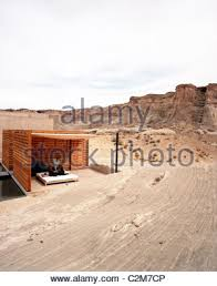aman spa outdoor treatment terraces at the amangiri resort in