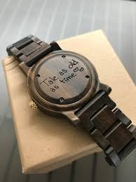 personalized gift ideas truly unique personalized gift ideas wooden watches cottonwood