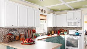 what color appliances with blue cabinets kitchen cabinet buying guide