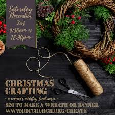 christmas crafting open door fellowship church open door