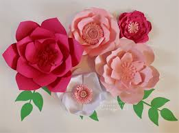 paper flowers paper flower centerpiece paper flower wall large paper flowers