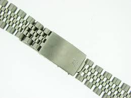 bracelet rolex images Mens genuine rolex stainless steel jubilee bracelet band 20mm sku jpg