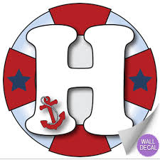 name wall letters alphabet stickers initial decals boys ocean click to view g click to view h