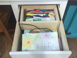 Organizing Desk Drawers by Save Your Surfaces Take Back Your Desk From Roaming Clutter