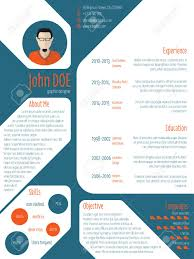 modern curriculum vitae template cool new modern cv resume curriculum vitae template with photo