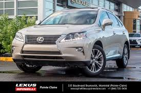 used vehicles for sale in montreal spinelli lexus pointe claire