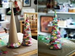 handmade christmas handmade christmas trees paper crafts kids