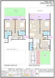 row house floor plans premium apartments in talegaon at eagle u0027s nest