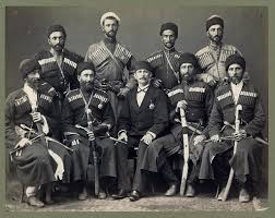 Ottoman Brothers Eight Circassian In With An Ottoman Official By