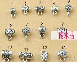 silver necklace clasp images 2018 diy jewelry accessories tibetan silver pendant buckle jpg