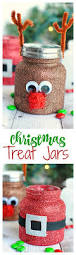 christmas treat jars craft holidays and xmas