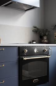 Blue Kitchen by Blue Kitchen With Brass Accents Coco Lapine Designcoco Lapine Design