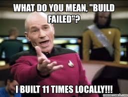 Build A Meme - build failed