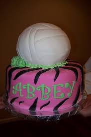 9 best volleyball cakes images on pinterest volleyball cakes