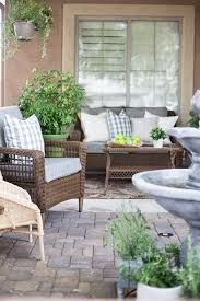 outdoor courtyard french inspired courtyard design ideas the home depot