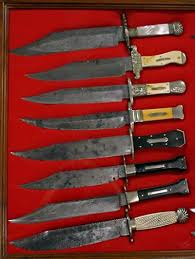 Used Kitchen Knives For Sale The Antique Bowie Knives Exles Ckca Forums Knife
