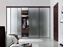 Glass Wall Doors by Furniture Modern Chic Sliding Glass Doors For The Modern Walk In