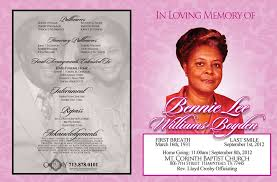 funeral program printing services services obituary printing funeral programs