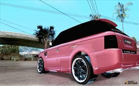 pink range rover land rover range rover sport hamann for gta san andreas