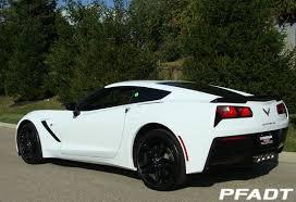 white c7 corvette pfadt race engineering 2014 pfadt corvette c7 stingray