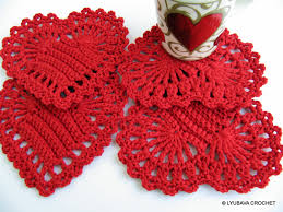 Crochet Patterns For Home Decor Red Heart Coasters Pattern Crochet Home Decor Pattern Diy