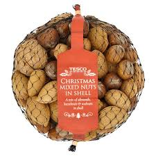 christmas nuts tesco christmas mixed nuts in shell 400g tesco groceries