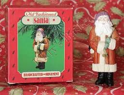 hallmark tree ornament fashioned santa claus