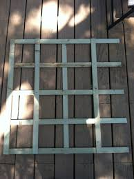 how to build your own foldable garden trellis green thumb journey