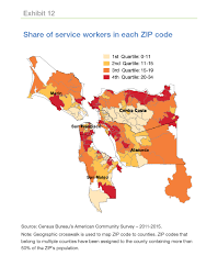 San Francisco County Map by Where Do The Service Workers In San Francisco Live Freddie Mac