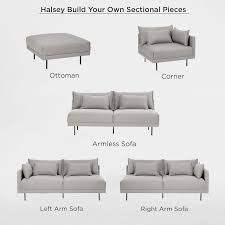 Build Your Own Sofa Sectional Custom Sectional Sofa Builder With Build Your Own Sectional Sofa