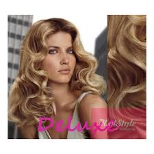 light brown curly hair 20 50cm deluxe curly clip in human remy hair light blonde