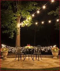 Unique Patio Lights How To String Lights On Outdoor Tree Unique How To Plan And Hang