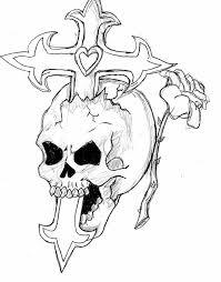 skull cross and by haze510 on deviantart