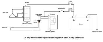 dissecting the nd 25 amp alternator triumph forum triumph rat