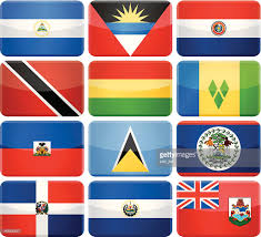 South America Flags Round Flag Pins Central And South America Vector Art Getty Images