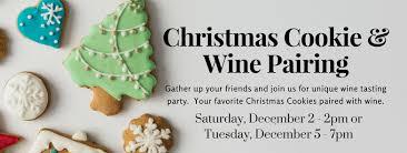 christmas cookie wine pairing png