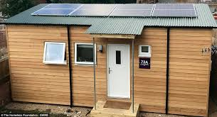 homeless teenager is first to move into 40k u0027micro home u0027 daily