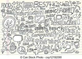 doodle vectors free business doodle vector set business eps