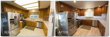 Kitchen Remodels Before And After by Kitchen Remodel Oakdale Naturewood Drive Complete