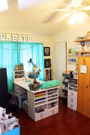 how to turn any space into a dream craft room decorating and