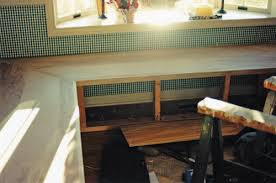 Wood Banquette Seating How To Make A Banquette For Your Kitchen In My Own Style